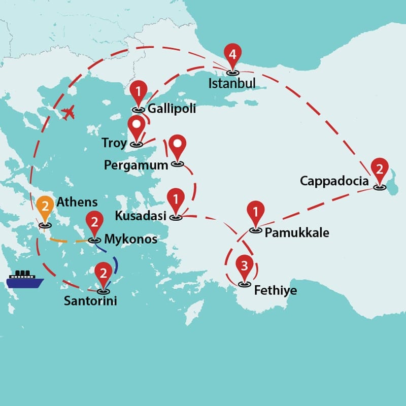 Best of Greece and Turkey   Greece Tours   Greece Group Tours ...