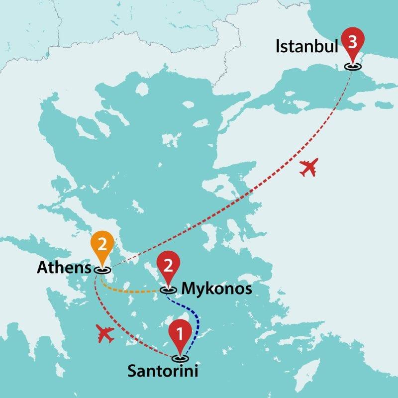 Greece Tours Greek Islands Hopping Travel Talk Tours