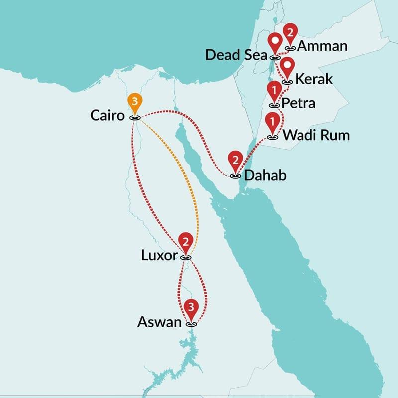 e893eeb4e80 Egypt and Jordan Tours | Egypt and Jordan Group Tours | Travel Talk ...