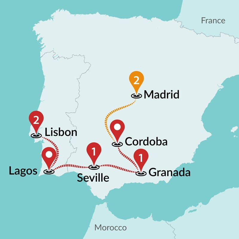 maps of spain and portugal image collections