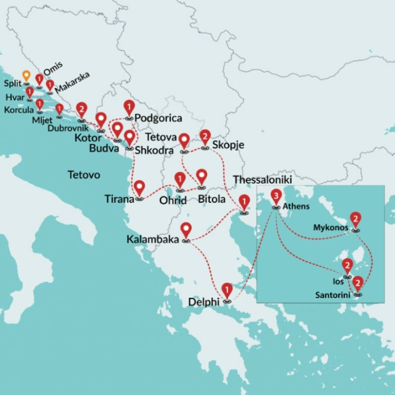 an overview of the balkan peninsula and its many physical features It also included parts of the balkan peninsula, northern africa,  the byzantine empire developed its own  describe how the physical geography and climate of the.