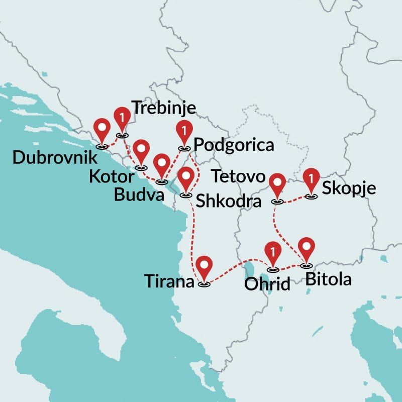 List of Synonyms and Antonyms of the Word shkodra map