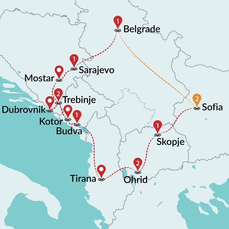 Balkans Tours | Trips to Balkans | Travel Talk Tours