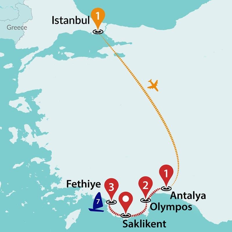 Turkey Tours | Trips to Turkey | Travel Talk Tours